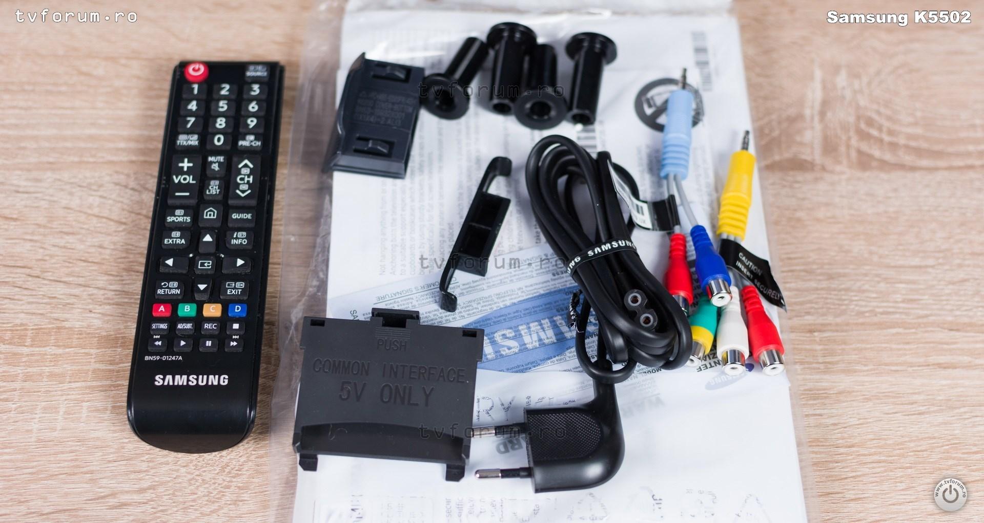Samsung 32K5502 Accessories